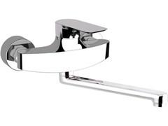 REMER Infinity Смеситель кухонный настенный с длинным носом I41